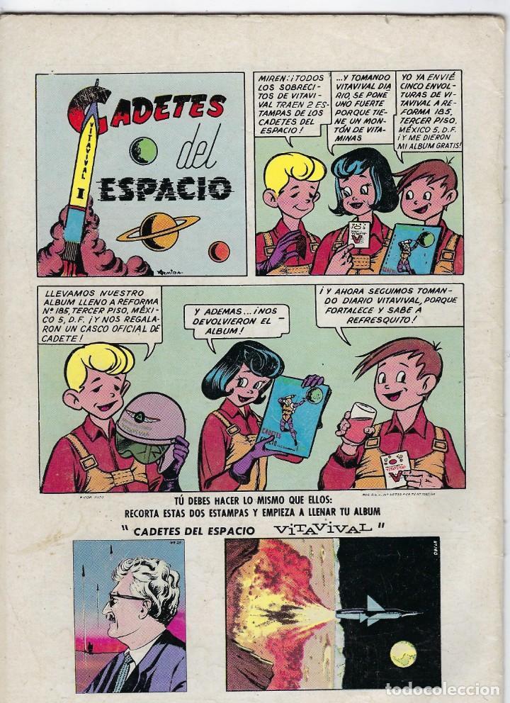 Tebeos: PORKY Y SUS AMIGOS - AÑO XIV - Nº 160 - ENERO 1º DE 1965 *** EDITORIAL NOVARO MÉXICO *** - Foto 2 - 246634705