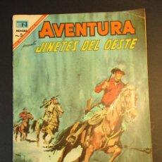 Tebeos: AVENTURA (1954, SEA / NOVARO) 485 · 25-IV-1967 · JINETES DEL OESTE. Lote 246636045