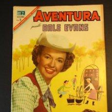 Tebeos: AVENTURA (1954, SEA / NOVARO) 493 · 20-VI-1967 · DALE EVANS. Lote 246669865