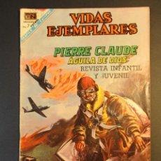 Tebeos: VIDAS EJEMPLARES (1954, ER / NOVARO) 282 · 1-XII-1968 · PIERRE CLAUDE, ÁGUILA DE DIOS. Lote 246694680