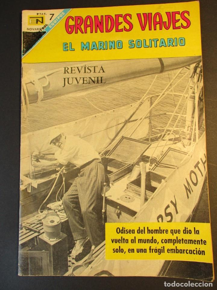 GRANDES VIAJES (1963, ER / NOVARO) 60 · I-1968 · GRANDES VIAJES (Tebeos y Comics - Novaro - Grandes Viajes)