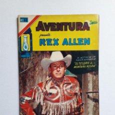 Tebeos: AVENTURA Nº 2 SERIE AVESTRUZ - REX ALLEN - ORIGINAL EDITORIAL NOVARO. Lote 246994485