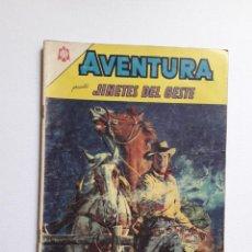 Tebeos: AVENTURA Nº 346 - JINETES DEL OESTE - ORIGINAL EDITORIAL NOVARO. Lote 246995825