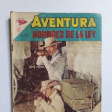 Tebeos: AVENTURA Nº 297 - HOMBRES DE LA LEY - ORIGINAL EDITORIAL NOVARO. Lote 246996735