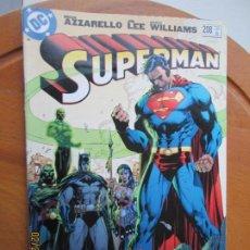Tebeos: SUPERMAN - BRIAN AZZARELLO -DC - 208 - OCT-2006 EN INGLES. Lote 247208530