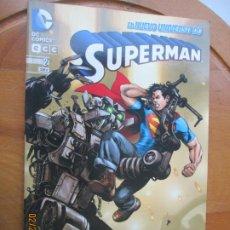 Tebeos: SUPERMAN EL NUEVO UNIVERSO DC COMICS Nº 2. Lote 247208885
