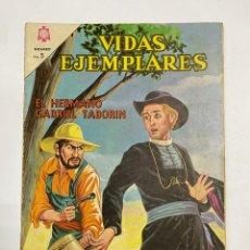 Tebeos: VIDAS EJEMPLARES. Nº 180. EL HERMANO GABRIEL TABORIN. EDITORIAL NOVARO.. Lote 247293335