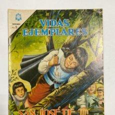 Tebeos: VIDAS EJEMPLARES. Nº 185. SAN JOSÉ DE CALASANZ. EDITORIAL NOVARO.. Lote 247293575
