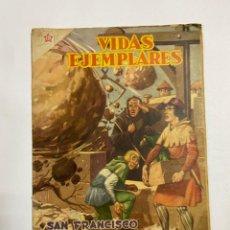 Tebeos: VIDAS EJEMPLARES. Nº 32. SAN FRANCISCO DE PAULA. EDITORIAL NOVARO.. Lote 247294320