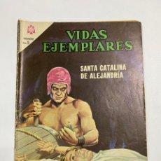 Tebeos: VIDAS EJEMPLARES. Nº 216. SANTA CATALINA DE ALEJANDRÍA. EDITORIAL NOVARO.. Lote 247299025