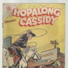 Tebeos: HOPALONG CASSIDY 47, 1958, NOVARO. COLECCIÓN A.T.. Lote 247459905