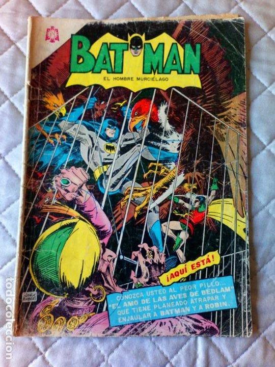 BATMAN Nº 333 NOVARO DIFÍCIL (Tebeos y Comics - Novaro - Batman)