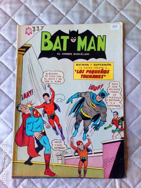 BATMAN Nº 337 NOVARO (Tebeos y Comics - Novaro - Batman)