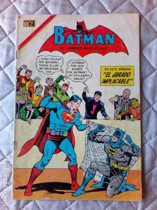 BATMAN Nº 400 NOVARO DIFÍCIL (Tebeos y Comics - Novaro - Batman)