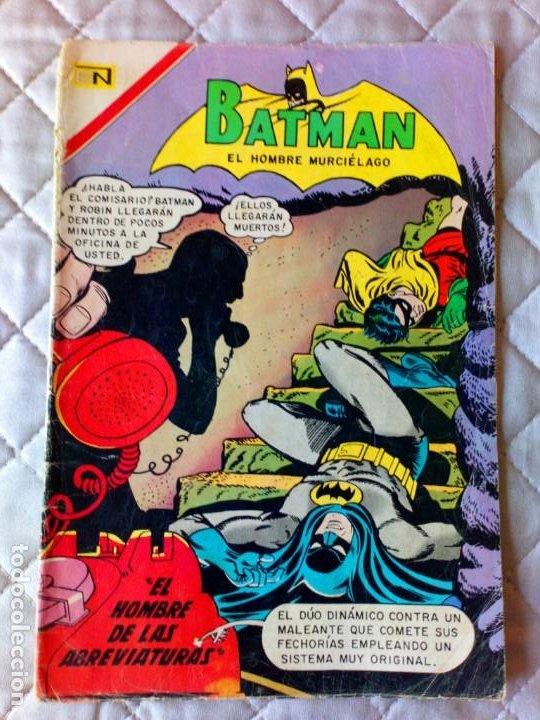 BATMAN Nº 401 NOVARO DIFÍCIL (Tebeos y Comics - Novaro - Batman)