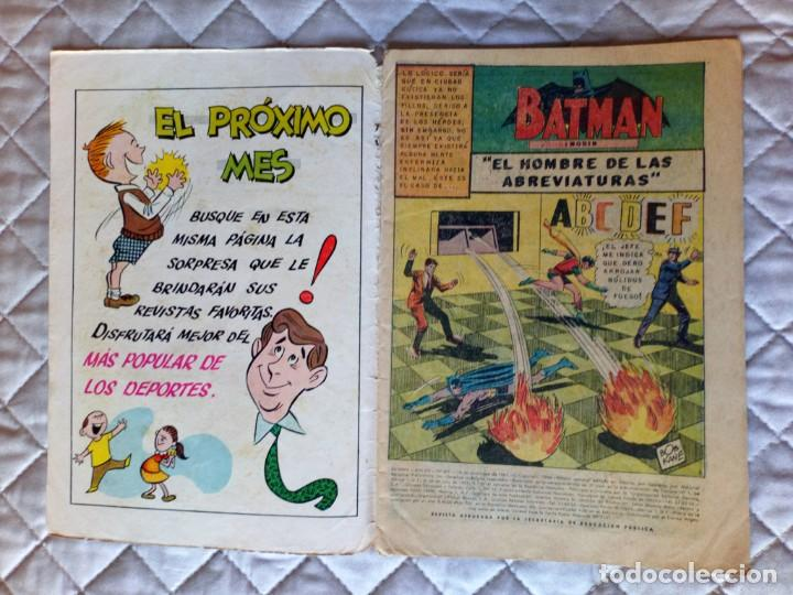 Tebeos: Batman Nº 401 NOVARO DIFÍCIL - Foto 3 - 247589650
