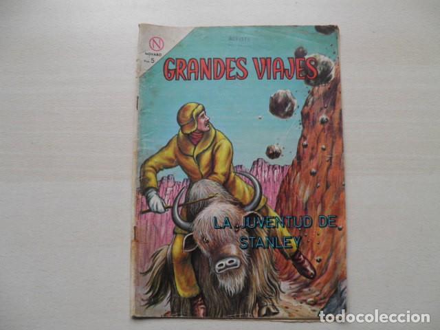 GRANDES VIAJES (Tebeos y Comics - Novaro - Grandes Viajes)