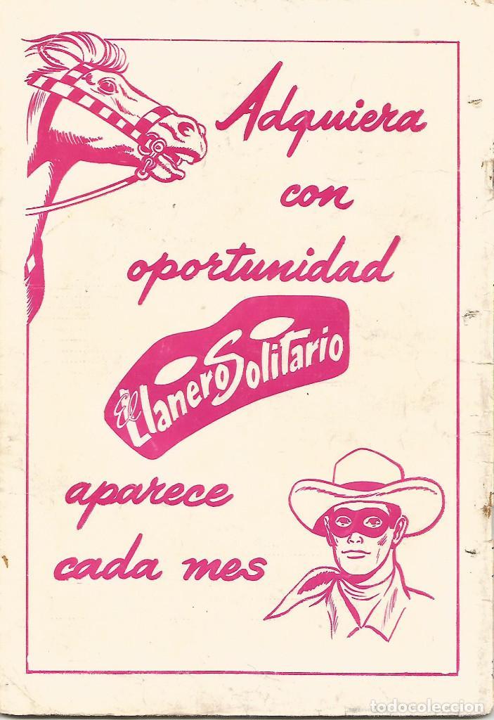 Tebeos: TEBEO COMIC BUCS EL CONEJO DE LA SUERTE ED NOVARO Nº 191 AÑO 1964 - Foto 2 - 247650890
