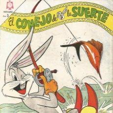 Tebeos: TEBEO COMIC BUCS EL CONEJO DE LA SUERTE ED NOVARO Nº 266 AÑO 1966. Lote 247651035