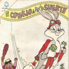 Tebeos: TEBEO COMIC BUCS EL CONEJO DE LA SUERTE ED NOVARO Nº 211 AÑO 1965. Lote 247651175