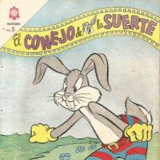 Tebeos: TEBEO COMIC BUCS EL CONEJO DE LA SUERTE ED NOVARO Nº 200 AÑO 1964. Lote 247651295