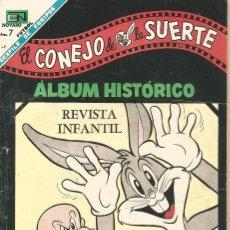 Tebeos: TEBEO COMIC BUCS EL CONEJO DE LA SUERTE ALBUM HISTORICO ED NOVARO Nº 301 AÑO 1968 CROMOS FUTBOL. Lote 247652100