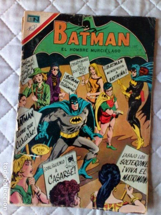 BATMAN Nº 528 NOVARO MUY DIFÍCIL (Tebeos y Comics - Novaro - Batman)