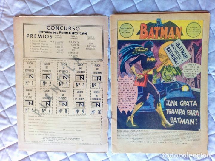 Tebeos: Batman Nº 528 NOVARO MUY DIFÍCIL - Foto 3 - 248008395