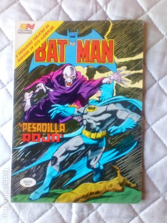 BATMAN Nº 1237 SÉRIE ÄGUILA NOVARO (Tebeos y Comics - Novaro - Batman)
