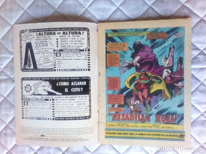 Tebeos: Batman Nº 1237 Série Äguila NOVARO - Foto 3 - 248029490
