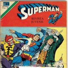 BDs: SUPERMAN Nº 1128 (SERIE ÁGUILA) NOVARO 1977. Lote 248168130