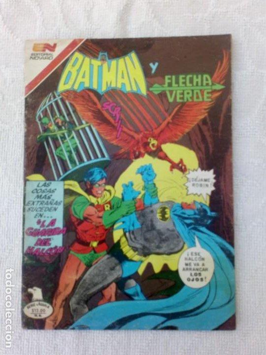 BATMAN Nº 1191 SERIE ÁGUILA NOVARO MUY DIFÍCIL (Tebeos y Comics - Novaro - Batman)