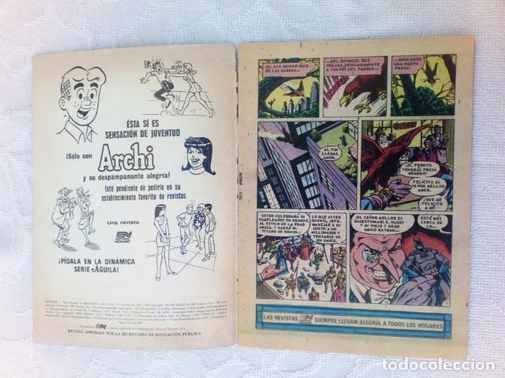 Tebeos: Batman Nº 1191 Serie Águila NOVARO MUY DIFÍCIL - Foto 3 - 248234255