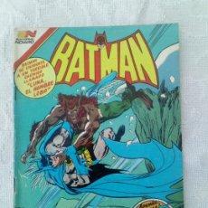 Tebeos: BATMAN Nº 1181 SERIE ÁGUILA NOVARO MUY DIFÍCIL. Lote 248235510