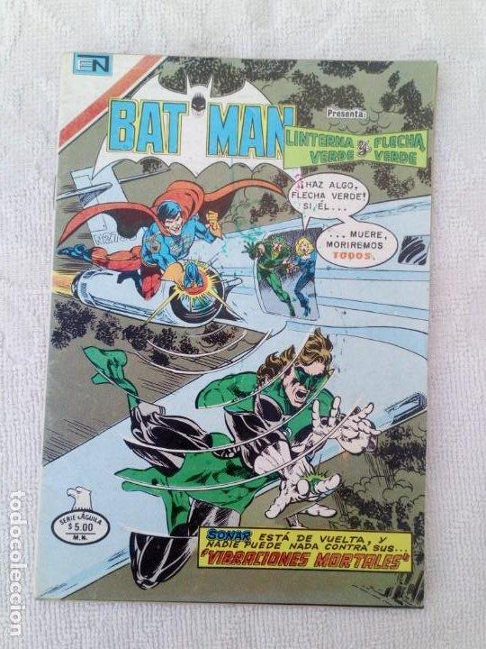 BATMAN Nº 1080 SERIE ÁGUILA NOVARO (Tebeos y Comics - Novaro - Batman)