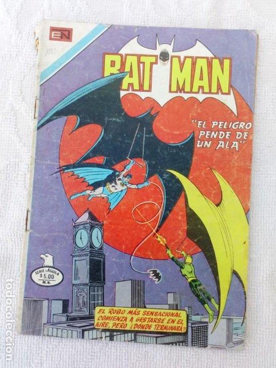 BATMAN Nº 1081 SERIE ÁGUILA NOVARO DIFÍCIL (Tebeos y Comics - Novaro - Batman)