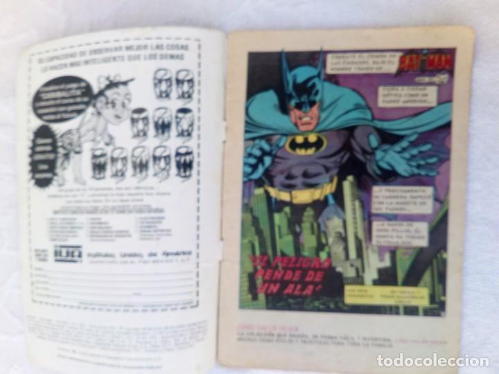 Tebeos: Batman Nº 1081 Serie Águila NOVARO DIFÍCIL - Foto 3 - 248258540