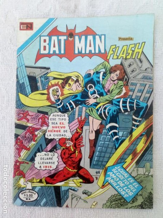 BATMAN Nº 1076 SERIE ÁGUILA NOVARO DIFÍCIL (Tebeos y Comics - Novaro - Batman)