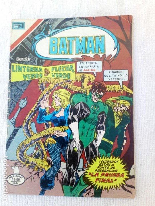 BATMAN Nº 1074 SERIE ÁGUILA NOVARO (Tebeos y Comics - Novaro - Batman)