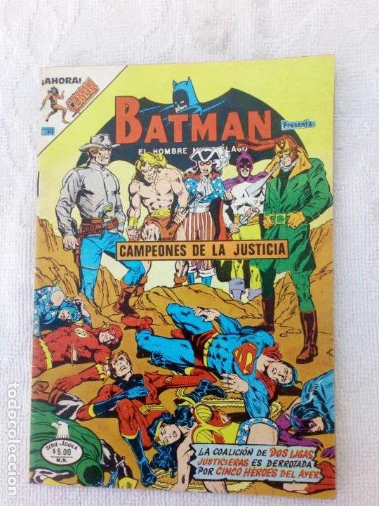 BATMAN Nº 1030 SERIE ÁGUILA NOVARO DIFÍCIL (Tebeos y Comics - Novaro - Batman)