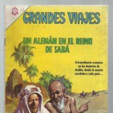 Tebeos: GRANDES VIAJES 43: UN ALEMÁN EN EL REINO DE SABÁ, 1966, NOVARO, . COLECCIÓN A.T.. Lote 248674865