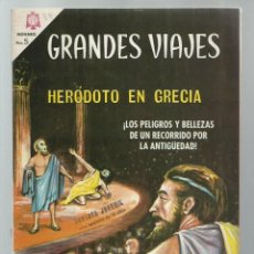 Tebeos: GRANDES VIAJES 34: HERÓDOTO EN GRECIA, 1966, NOVARO, BUEN ESTADO. COLECCIÓN A.T.. Lote 248676400