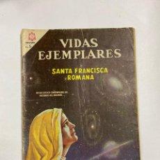 Tebeos: VIDAS EJEMPLARES. Nº 221 - SANTA FRANCISCA ROMANA. EDITORIAL NOVARO. Lote 249449805