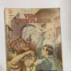 Tebeos: VIDAS EJEMPLARES. Nº 183 - SAN VIATOR. EDITORIAL NOVARO. Lote 249450300