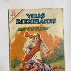 Tebeos: VIDAS EJEMPLARES. Nº 219 - SAN PANTALEÓN. EDITORIAL NOVARO. Lote 249450360
