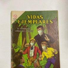 Tebeos: VIDAS EJEMPLARES. Nº 174 - EL VENERABLE ARNOLDO JANSSEN. EDITORIAL NOVARO. Lote 249450650