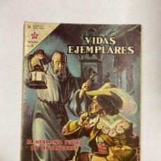 Tebeos: VIDAS EJEMPLARES. Nº 157 - EL HERMANO PEDRO DE BETANCOURT. EDITORIAL NOVARO. Lote 249451025