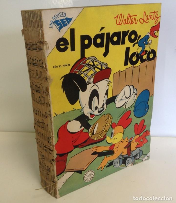 ENCUADERNADO ¡21 NÚMEROS! VARIOS TITULOS: SUPER GATO, PAJARO LOCO, ETC. **EDITORIAL NOVARO** (Tebeos y Comics - Novaro - Otros)