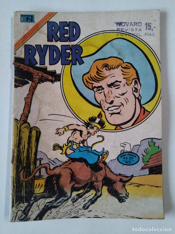 COMIC ORIGINAL - RED RYDER - SERIE AGUILA - AÑO XXIII - Nº 2 - NOVARO - AÑO 1977..L3698 (Tebeos y Comics - Novaro - Red Ryder)