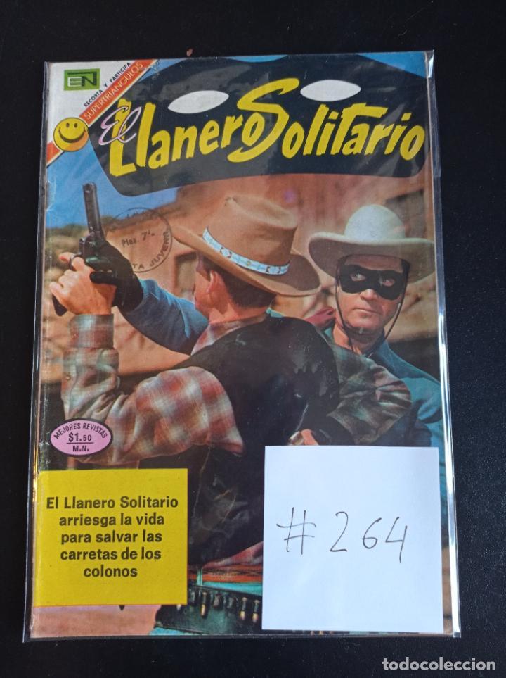 EL LLANERO SOLITARIO # 264 (Tebeos y Comics - Novaro - El Llanero Solitario)